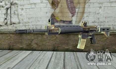 M4A1 из S.T.A.L.K.E.R. für GTA San Andreas