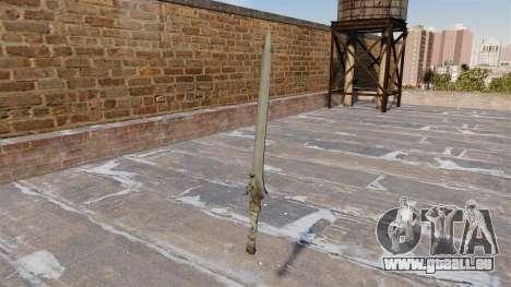 Schwert-Rebellion- für GTA 4 Sekunden Bildschirm