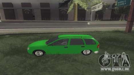 Chevrolet Corsa Wagon pour GTA San Andreas laissé vue