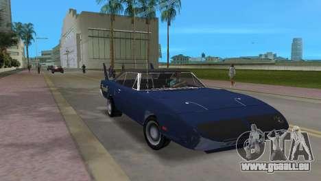 Plymouth Superbird pour GTA Vice City