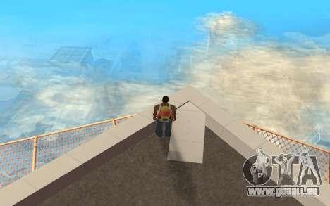 Changement de gamme de rendu pour GTA San Andreas troisième écran