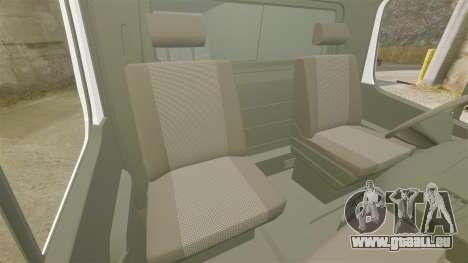 Mercedes-Benz Sprinter TF1 News [ELS] pour GTA 4 est une vue de l'intérieur