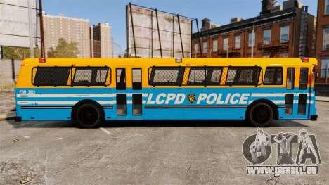 Brute Bus LCPD [ELS] v2.0 für GTA 4 linke Ansicht