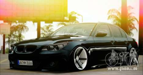 BMW M5 E60 Vossen pour GTA San Andreas