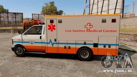 Brute LSMC Paramedic für GTA 4 linke Ansicht