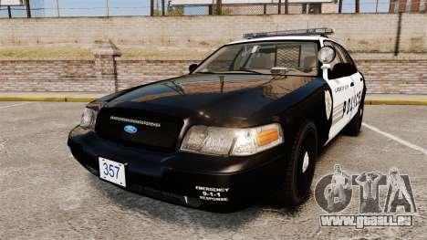 Ford Crown Victoria LCPD [ELS] pour GTA 4