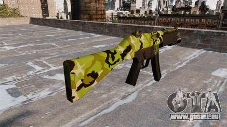 Die HK MP5 Maschinenpistole für GTA 4 Sekunden Bildschirm