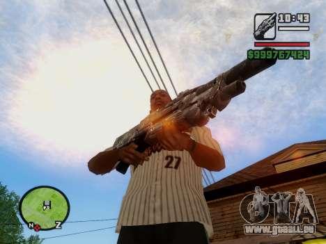 M-86 Sabre v.2 pour GTA San Andreas huitième écran
