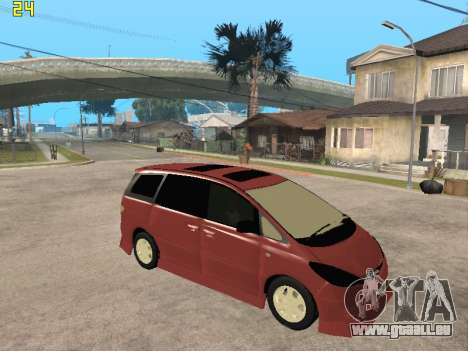 Toyota Estima Altemiss 2wd für GTA San Andreas rechten Ansicht
