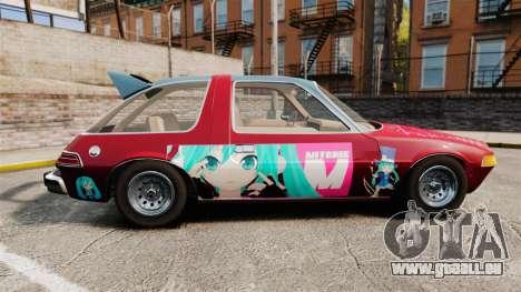 AMC Pacer 1977 v2.1 Mitchie M pour GTA 4 est une gauche