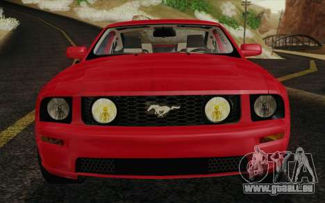 Ford Mustang GT 2005 pour GTA San Andreas vue de dessous