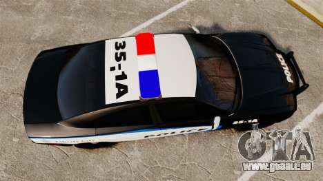 Dodge Charger 2013 Liberty City Police [ELS] für GTA 4 rechte Ansicht