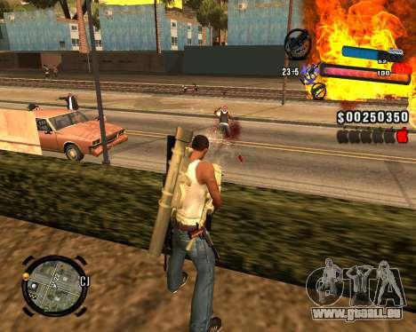 Le nouveau C-PALETTE pour GTA San Andreas quatrième écran