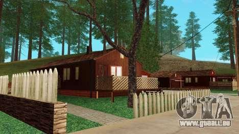Une maison dans le village pour GTA San Andreas quatrième écran