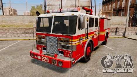 Fire Truck v1.4A FDLC [ELS] für GTA 4