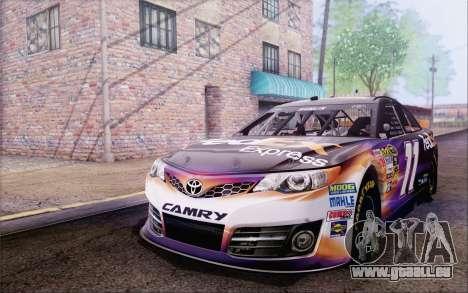 Toyota Camry NASCAR Sprint Cup 2013 für GTA San Andreas Rückansicht
