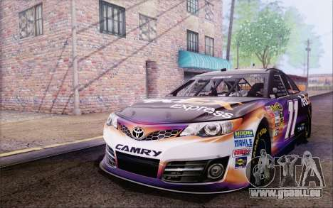 Toyota Camry NASCAR Sprint Cup 2013 pour GTA San Andreas vue arrière