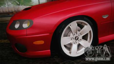 Pontiac GTO 2005 pour GTA San Andreas vue de droite