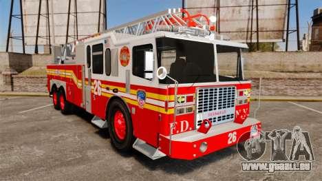 Ferrara 100 Aerial Ladder FDNY [working ladder] für GTA 4