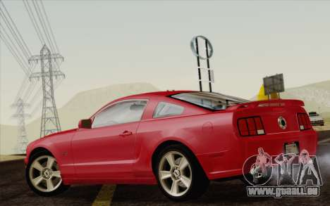 Ford Mustang GT 2005 für GTA San Andreas linke Ansicht