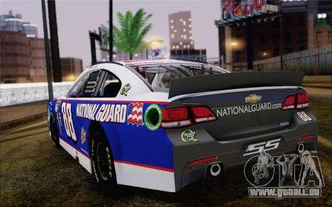 Chevrolet SS NASCAR Sprint Cup 2013 pour GTA San Andreas laissé vue
