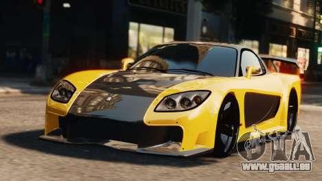 Mazda RX7 Veilside V8 pour GTA 4