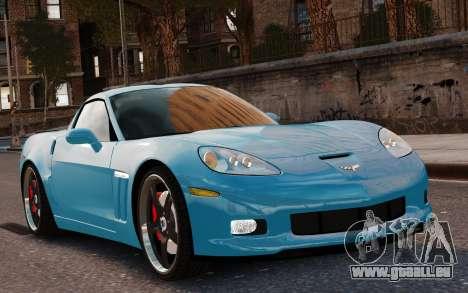 Chevrolet Corvette Grand Sport 2010 für GTA 4