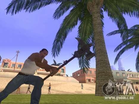 Baton Marker für GTA San Andreas zweiten Screenshot