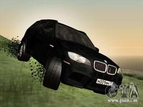 BMW X5M E70 2010 für GTA San Andreas Seitenansicht