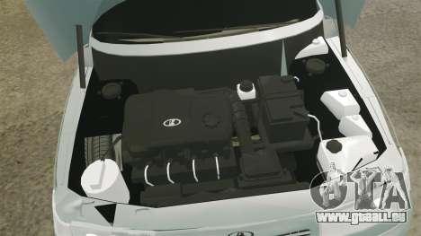 VAZ-2110 110 Bogdan für GTA 4 Innenansicht