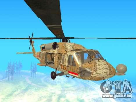SH-60  Batik Indonesia für GTA San Andreas linke Ansicht
