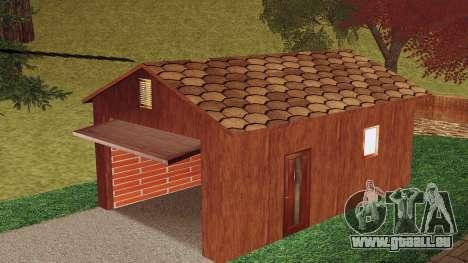 Une maison dans le village pour GTA San Andreas troisième écran