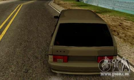 Les VASES 2115 Immobilier pour GTA San Andreas sur la vue arrière gauche
