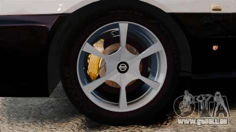 Nissan Skyline ER34 Police pour GTA 4 Vue arrière
