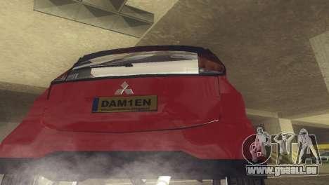 Mitsubishi i MiEV für GTA San Andreas rechten Ansicht