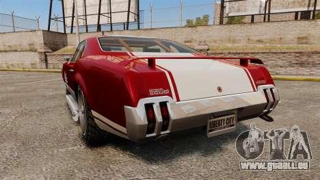 Declasse SabreGT Mexican Style pour GTA 4 Vue arrière de la gauche