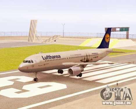 Airbus A320-200 Lufthansa pour GTA San Andreas