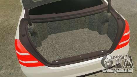 Mercedes-Benz S65 (W221) AMG pour GTA 4 est un côté