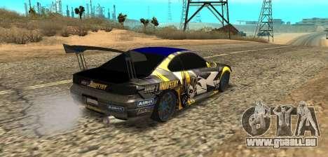 Nissan Silvia S15 Drift Industry für GTA San Andreas linke Ansicht