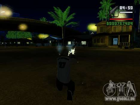 Die Maschinenpistole UZI für GTA San Andreas neunten Screenshot