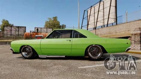 Dodge Dart 1968 pour GTA 4 est une gauche