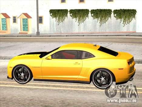 Chevrolet Camaro ZL1 2011 für GTA San Andreas linke Ansicht
