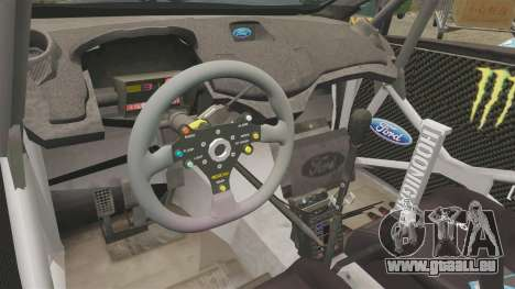Ford Fiesta RS [Hoonigan] pour GTA 4 Vue arrière
