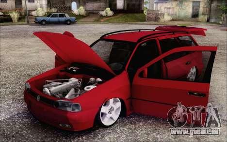 Volkswagen Parati SPS Club pour GTA San Andreas vue arrière