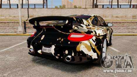 Porsche 911 GT2 RS 2012 BLOB pour GTA 4 Vue arrière de la gauche