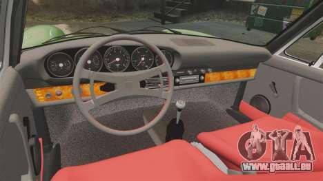 Porsche 911 Targa 1974 für GTA 4 Innenansicht