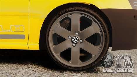 Volkswagen Parati G4 Track and Field 2013 pour GTA 4 Vue arrière