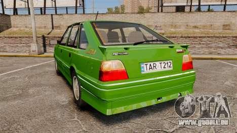 FSO Polonez Caro 1.4 GLI 16V pour GTA 4 Vue arrière de la gauche
