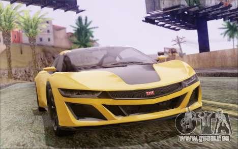 GTA V Dinka Jester IVF pour GTA San Andreas laissé vue
