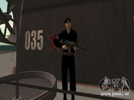 Le Corps des marines des forces armées pour GTA San Andreas